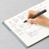 Monthly plan - Antenna Shop 2022 Table Talk A5 Dated Weekly Diary Planner