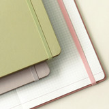 Elastic band closure - Indigo 2022 Prism A5 Dated Monthly Diary Planner