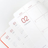 100gsm paper - Indigo 2022 Prism B6 Dated Weekly Diary Planner