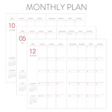 Monthly plan - Indigo 2022 Prism Slim Dated Monthly Diary Planner