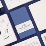 Indigo 2022 Prism Slim Dated Monthly Diary Planner