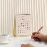 Indigo 2022 The temperature of the day monthly desk calendar
