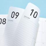 100gsm paper - Ardium 2022 Premium Basic Dated Monthly Planner Scheduler