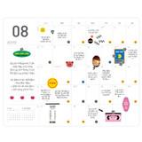 Monthly plan - Ardium 2022 Premium Basic Dated Monthly Planner Scheduler