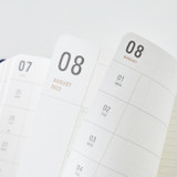 100gsm paper - Ardium 2022 Basic Dated Weekly Diary Planner