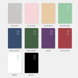 Color - Ardium 2022 Basic Dated Weekly Diary Planner