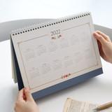 2022 calendar - Indigo 2022 Prince Story monthly desk standing calendar