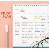 Usage example - Indigo 2022 Prism monthly desk standing calendar