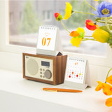 Wanna This 2022 Classic Mini Dated Monthly Desk Calendar
