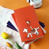 01 Red - Jam Studio 2022 Cha Cha Dated Weekly Diary Planner