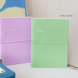 Apple Mint - Indigo 2022 Be Happy for Little Things Dated Weekly Diary