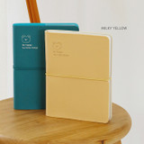 Milky Yellow - Indigo 2022 Be Happy for Little Things Dated Weekly Diary
