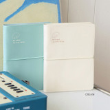 Cream - Indigo 2022 Be Happy for Little Things Dated Weekly Diary