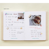 Grid note - Indigo 2022 Be Happy for Little Things Dated Weekly Diary