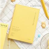 04 Custard Yellow - ICONIC 2022 Simple Medium Dated Weekly Diary Planner