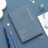 02 Indi Blue - ICONIC 2022 Simple Medium Dated Weekly Diary Planner