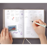 Weekly plan - ICONIC 2022 Simple Medium Dated Weekly Diary Planner
