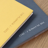 PVC cover - ICONIC 2022 Simple Large Dated Monthly Diary Planner