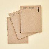 Ardium I am Paper Kraft 80 pages Blank Notebook