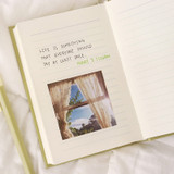 Lined note -  Indigo 2022 Prism Small Dated Daily Diary Journal