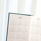 Calendar - Indigo 2022 Prism Small Dated Daily Diary Journal