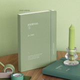 Sage Green - ICONIC 2022 Journal Journey Dated Weekly Diary Planner