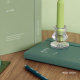 Moss Green - ICONIC 2022 Journal Journey Dated Weekly Diary Planner
