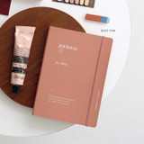 Brick Pink - ICONIC 2022 Journal Journey Dated Weekly Diary Planner