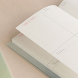 120gsm paper - ICONIC 2022 Make Your Space Dated Weekly Diary Planner