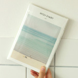 PVC cover - Dash And Dot 2022 Wish Dated Weekly Diary Planner