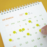 Back pages- After The Rain 2022 My Schedule Keeper Monthly Desk Calendar