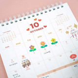 Front pages - After The Rain 2022 My Schedule Keeper Monthly Desk Calendar