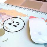 PP cover - GMZ 2022 World Wide Monthly Desk Calendar Scheduler