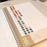100days plan - GMZ 2022 World Wide Monthly Desk Calendar Scheduler