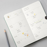 Monthly plan - 2022 Making memory handy dated weekly planner