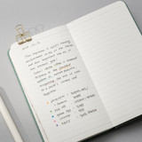 Lined note - 2022 Making memory handy dated weekly planner