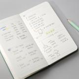 Weekly plan - 2022 Making memory handy dated weekly planner