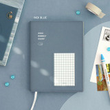 Indi blue - ICONIC 2022 Bubbly Dated Weekly Diary Planner