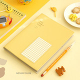 Custard yellow - ICONIC 2022 Bubbly Dated Weekly Diary Planner