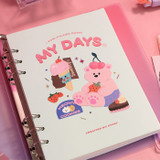 My days - ICONIC 2022 My Vibe 6-ring Dated Weekly Diary Planner