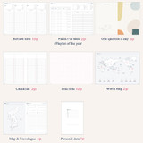 Planner pages - ICONIC 2022 Daily Life Dated Weekly Diary Planner