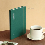 Deep Green - ICONIC 2022 Draw Your Orbit Dated Weekly Diary Planner