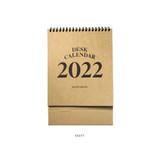Kraft - 2young 2022 Kraft Monthly Desk Standing Calendar