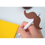 Look at me Pen - Brown mustache