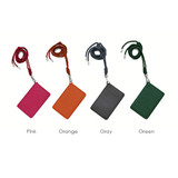 Colors of Leather card holder flat case