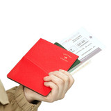 RFID blocking flat pocket passport case