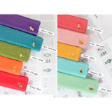 Colors of Zoo animal soft pencil case