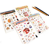 Jetoy Choo Choo cat sweet deco paper sticker