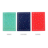 Colors of My little school lined notebook 64 pages
