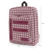 Size of Monopoly Vintage pattern easy carry backpack